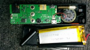 the guts of an M2 radio