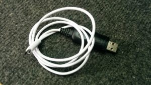 Exotic programming cable.
