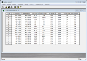 Software for M2 radio in English